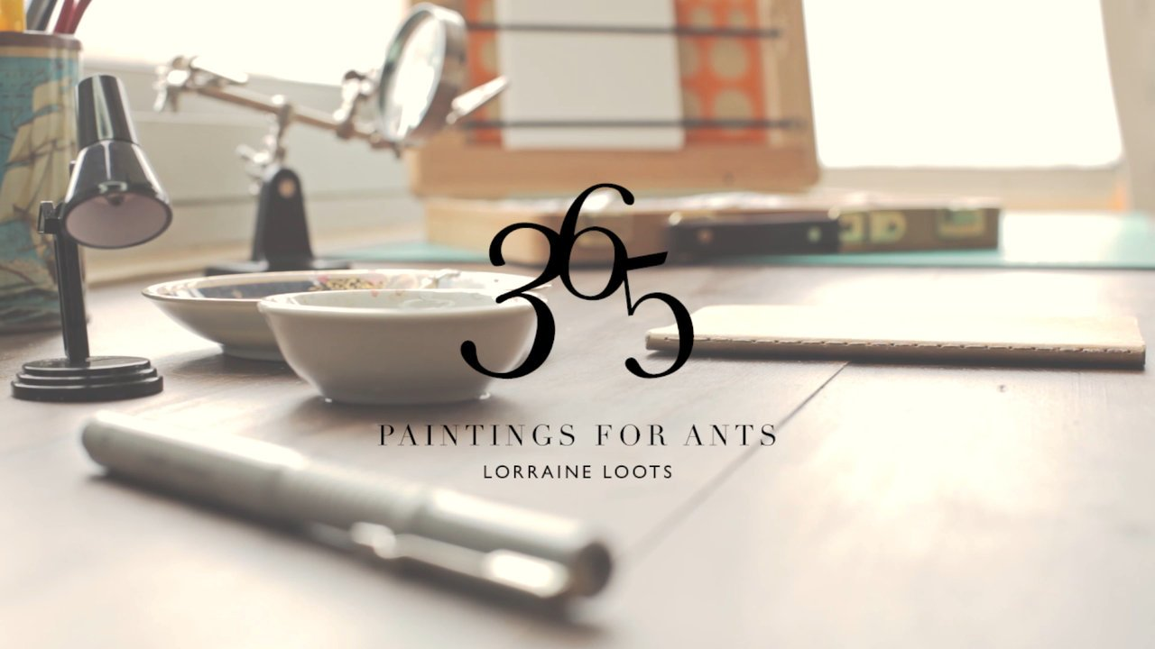 Paintings for Ants di Lorraine Loots